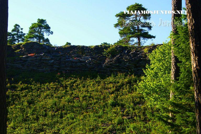 El fuerte amurallado, más grande de Escandinavia; Gotland, Suecia