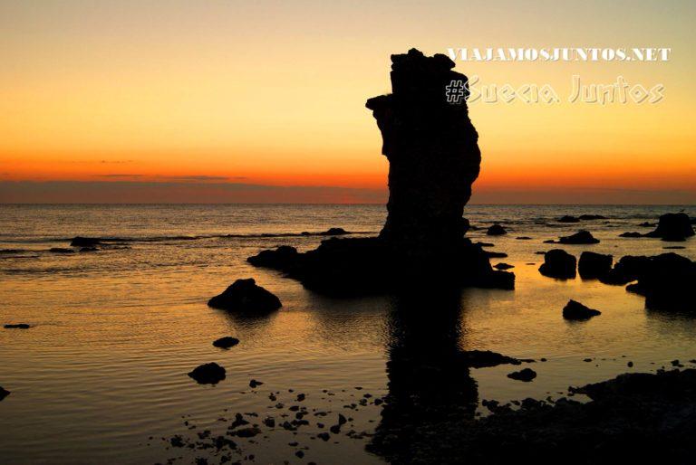 La belleza esculpida por mar y viento; Gotland, Suecia