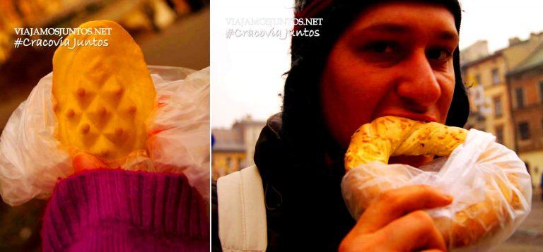 Nos encanta comer en la calle, sobre todo en Polonia, donde hay tanta variedad.