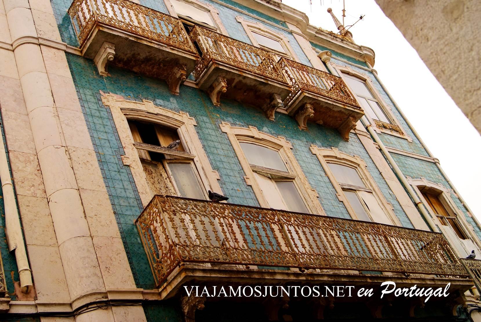 Casco histórico de Sesimbra, Portugal