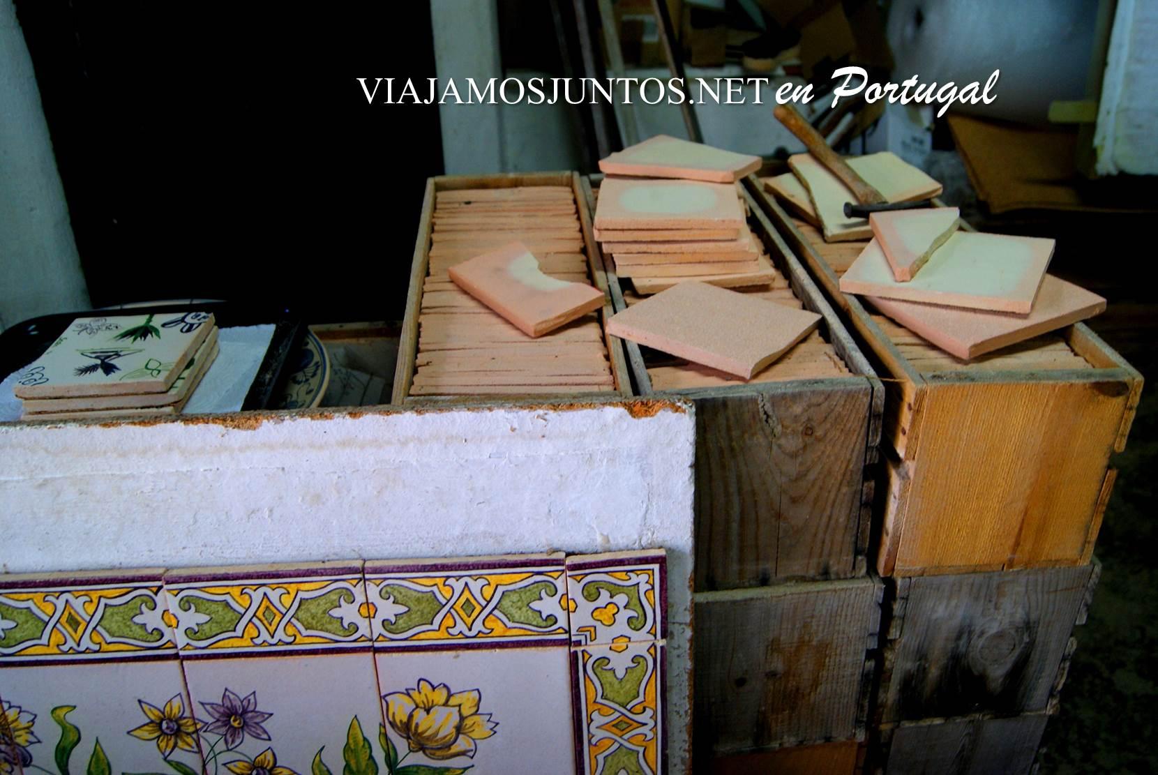 Taller de azulejos Sao Simao en Azeitao, Setúbal, Portugal