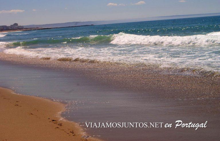 Playas de la Costa Caparica, Portugal