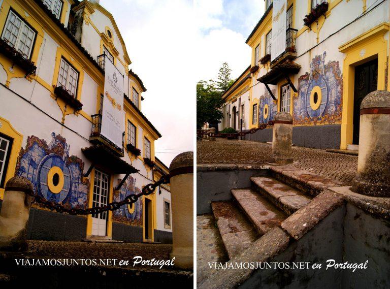 Bodega José María da Fonseca, entrada principal. Azeitao. Portugal
