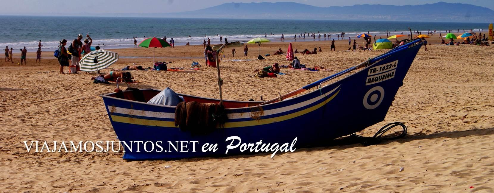 Playa Fonte da Telha, Costa Caparica, Portugal