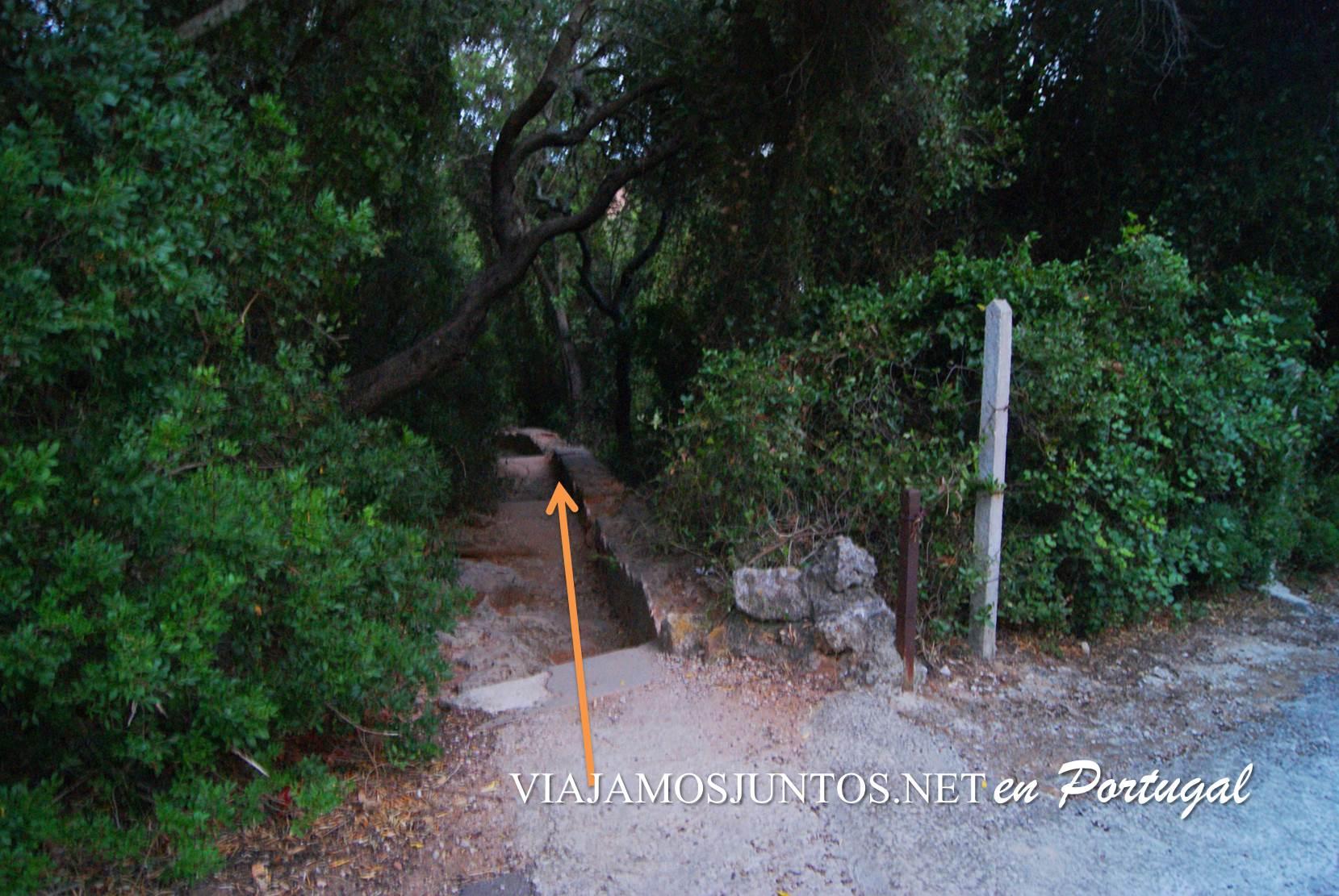 Gruta de Santa Margarida, Península de Setúbal, Portugal; como llegar