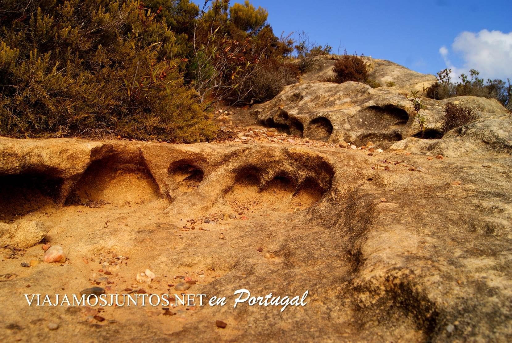 La ruta de los dinosaurios o de la Piedra de Mua, Portugal