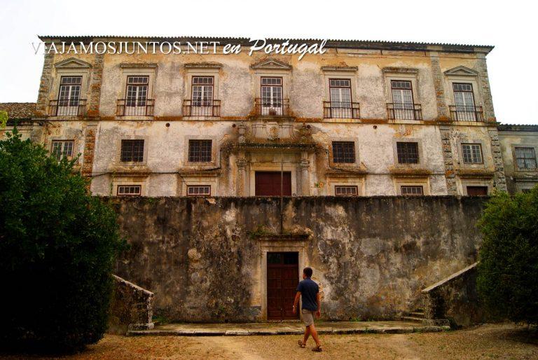 El palacio dos Duques de Aveiro, Azeitao, Portugal