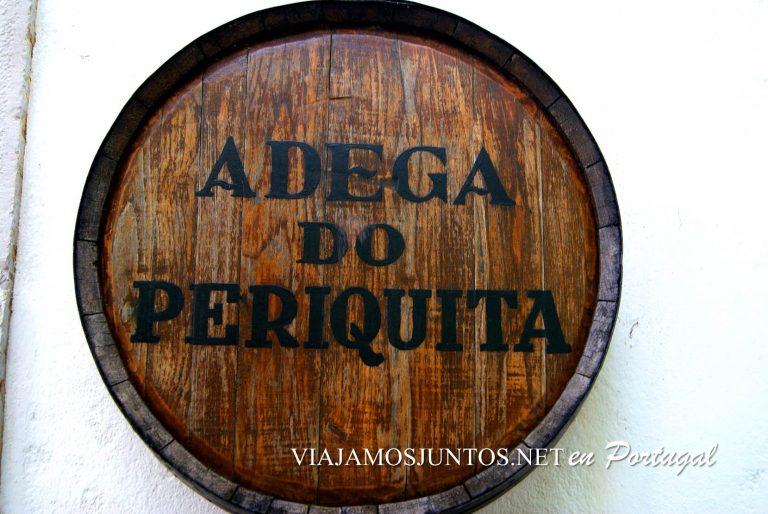 las bodegas de José María da Fonseca, la entrada