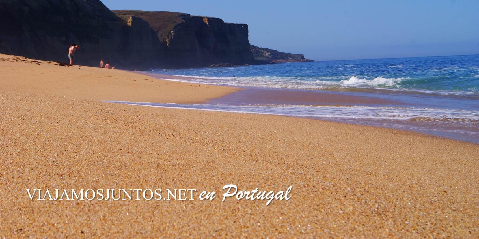 Playa do Meco, Costa Caparica, Portugal