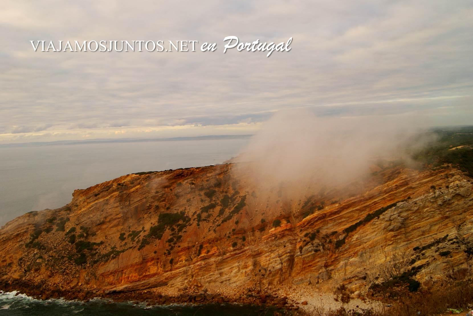 La niebla del Cabo Espichel, Portugal