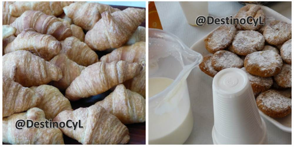 """Desayuno en la pastelería """"Soles de Gredos"""" , Hoyocasero, Gredos, durante la #TuitQuedadaMicologica"""