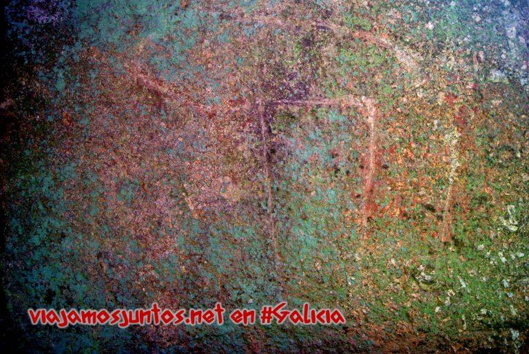 Ruta de los dólmenes de Vimianzo; Dumbría, Costa da Morte, Galicia; pinturas dolménicas