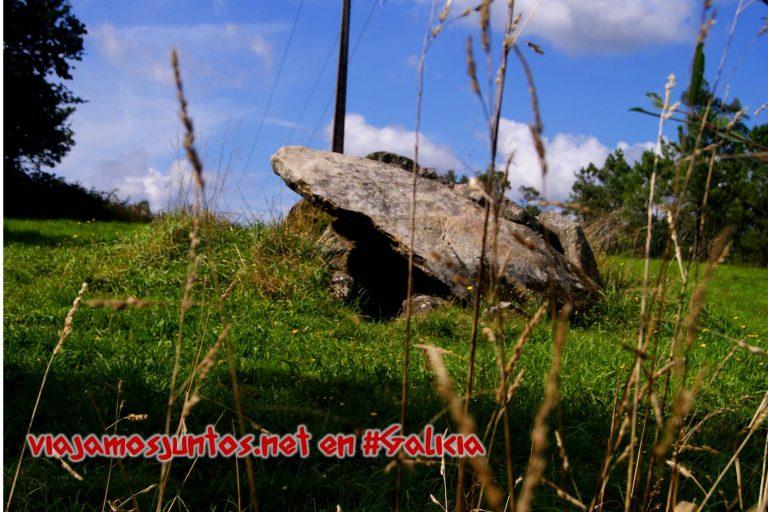 Dolmen Pedra Moura; Ruta de los dólmenes de Vimianzo; Dumbría, Costa da Morte, Galicia