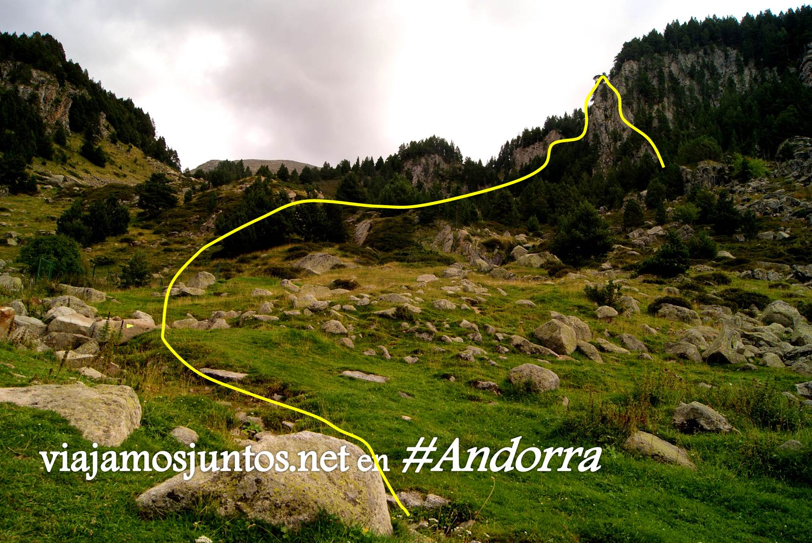 Vía ferrata Clots de l'Aspra; Encamp, Andorra