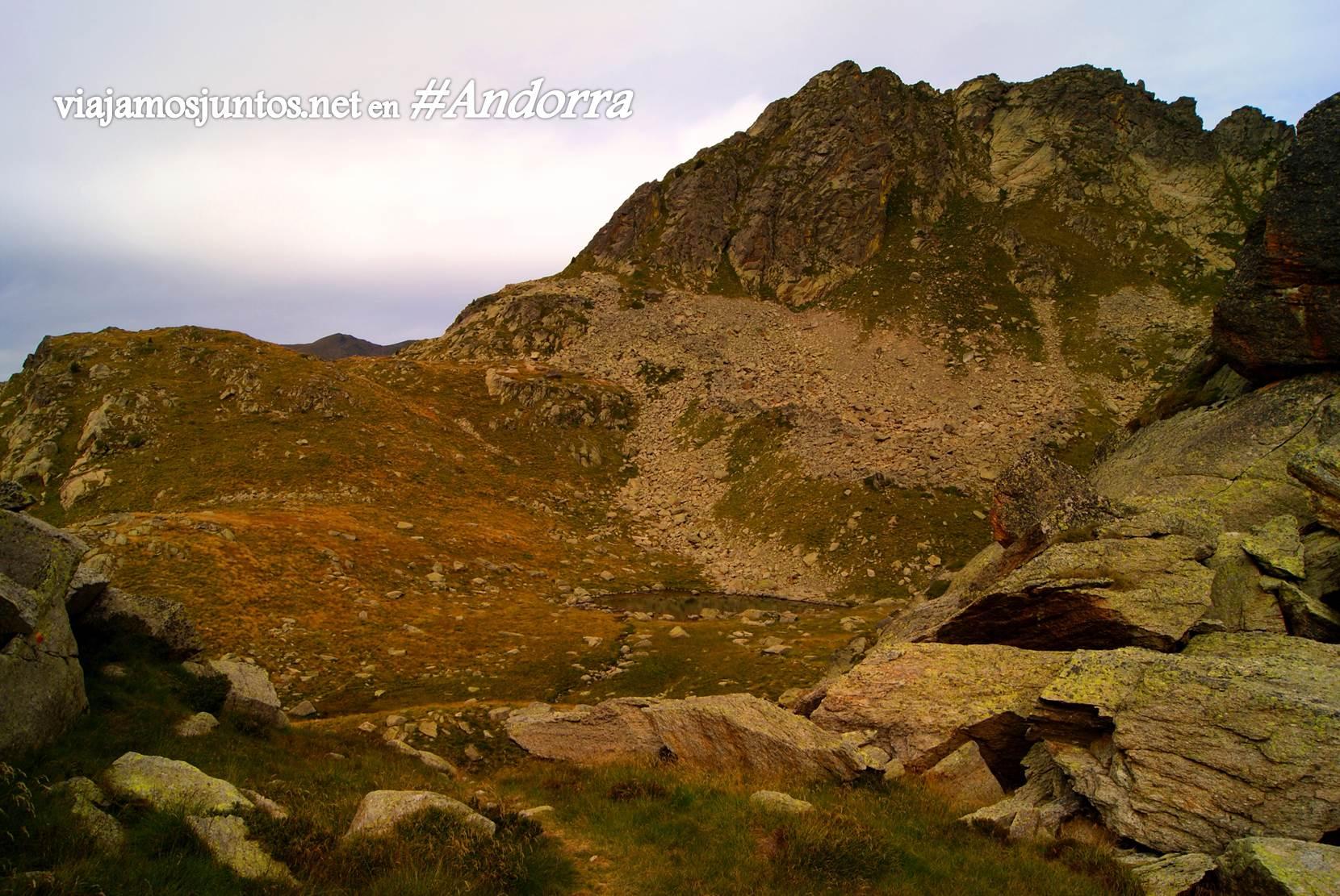 Pasado el refugio de Jucla, Andorra trekking, Pirineo Oriental