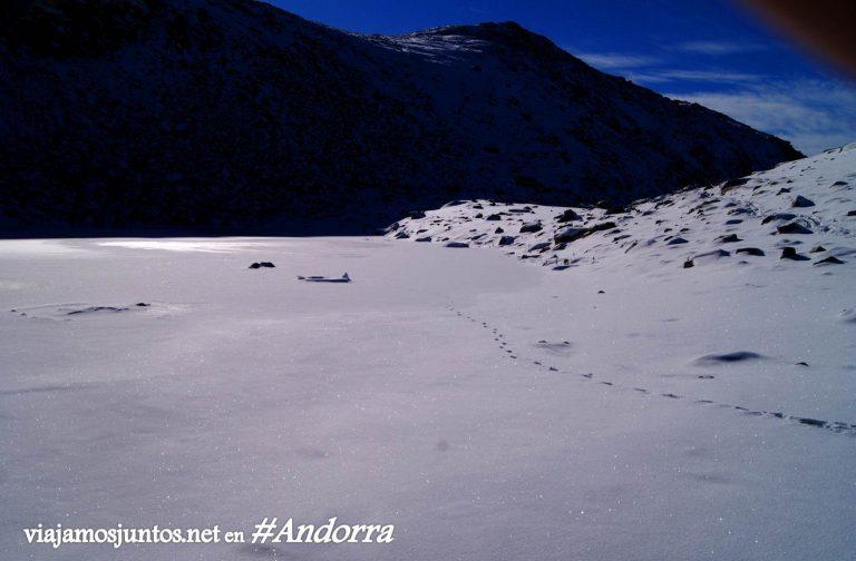 Nieve en GRP de Andorra, Pirineo Oriental