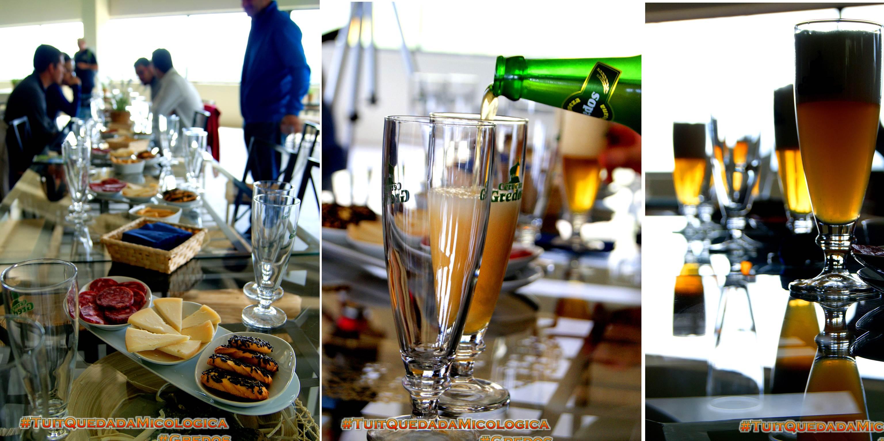Cerveza de Gredos, la fábrica en Hoyocasero, Gredos, durante la #TuitQuedadaMicologica