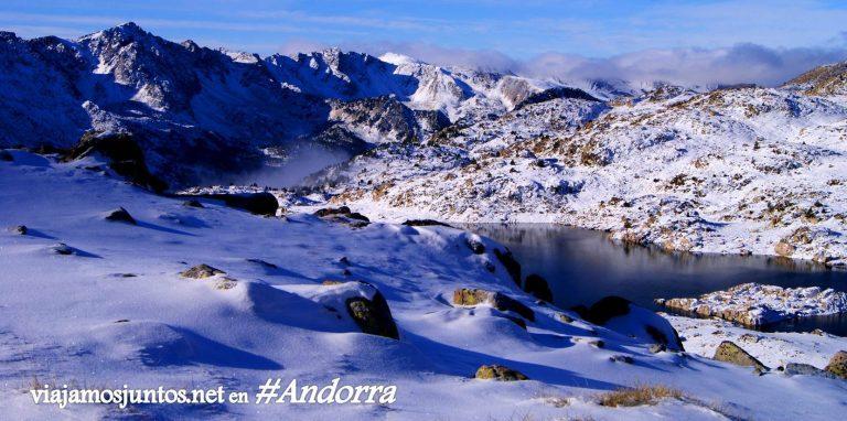 La presa de L'Illa, GRP Andorra, Pirineo Oriental