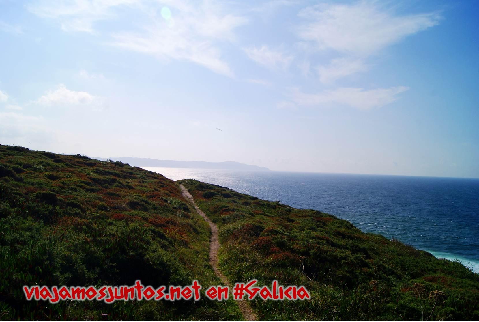Cabo Laxe, Costa da Morte, Galicia; la ruta