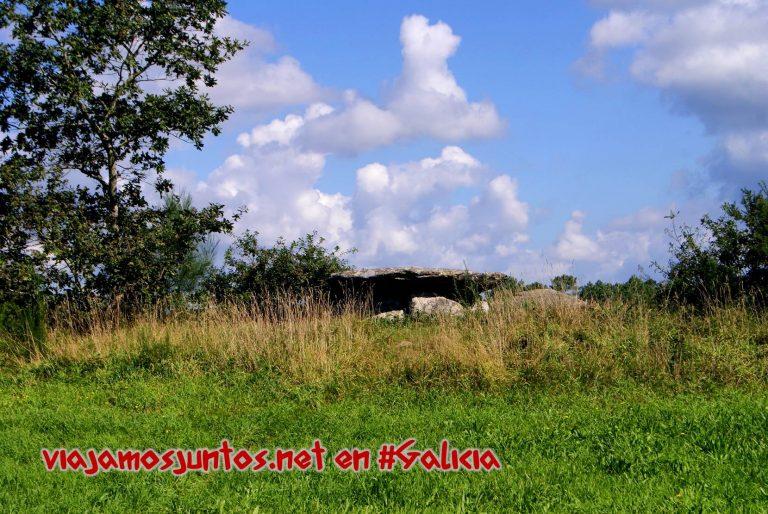 Dolmen Pedra da Arca; Ruta de los dólmenes de Vimianzo; Dumbría, Costa da Morte, Galicia