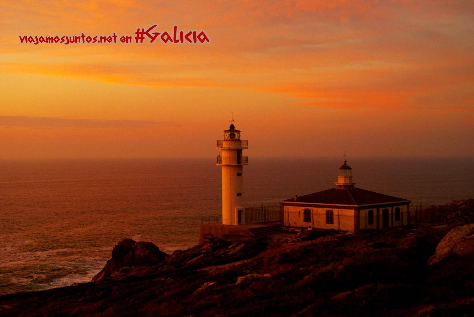 Puesta del sol en el Cabo de Touriñan; Costa da Morte, Galicia