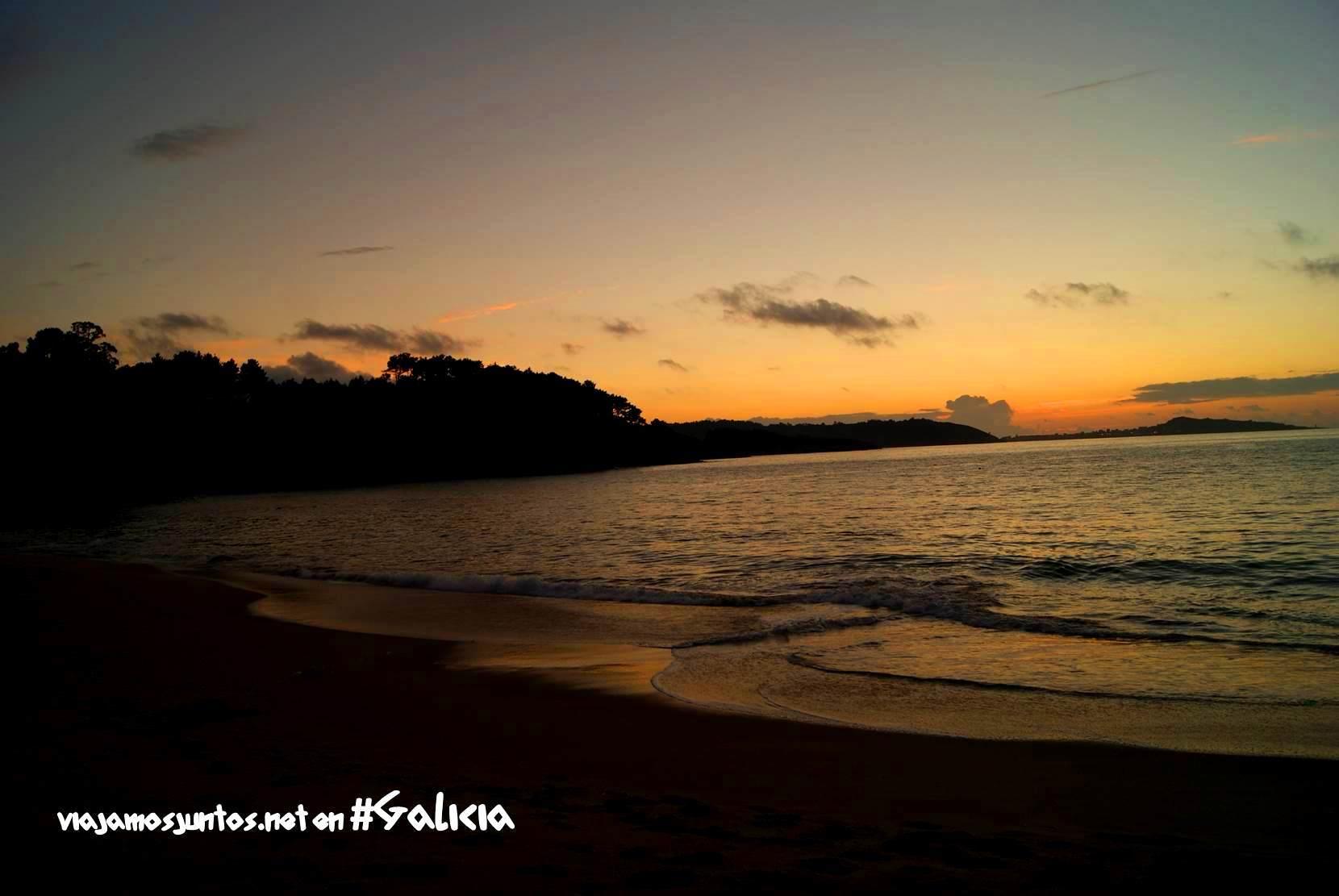 La playa de Lagoa, Costa da Morte, Galicia