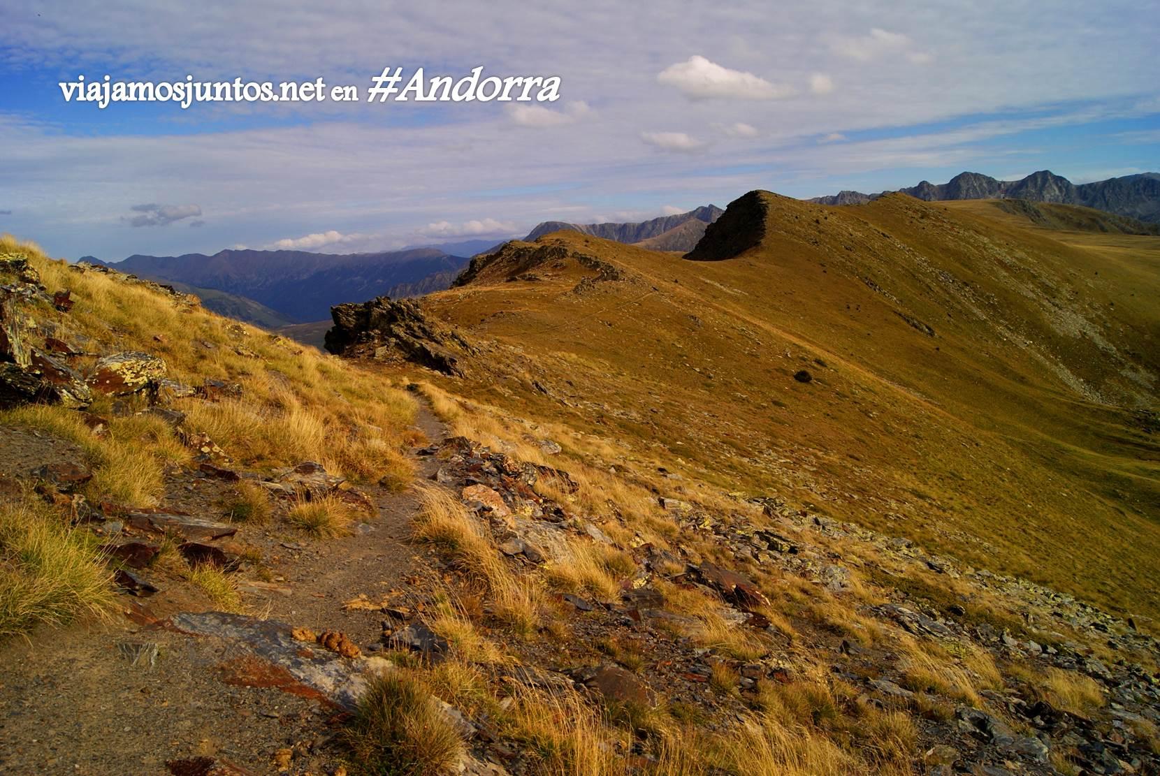 Collet d'Ortafa, GRP Andorra, Pirineos