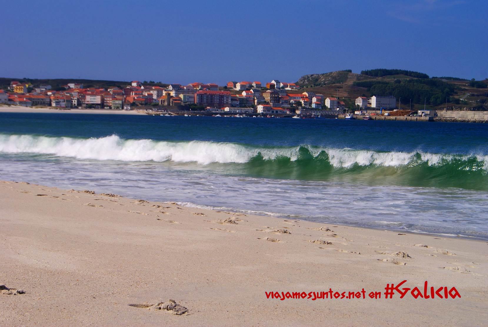 Playas de la Costa da Morte, Galicia; olas
