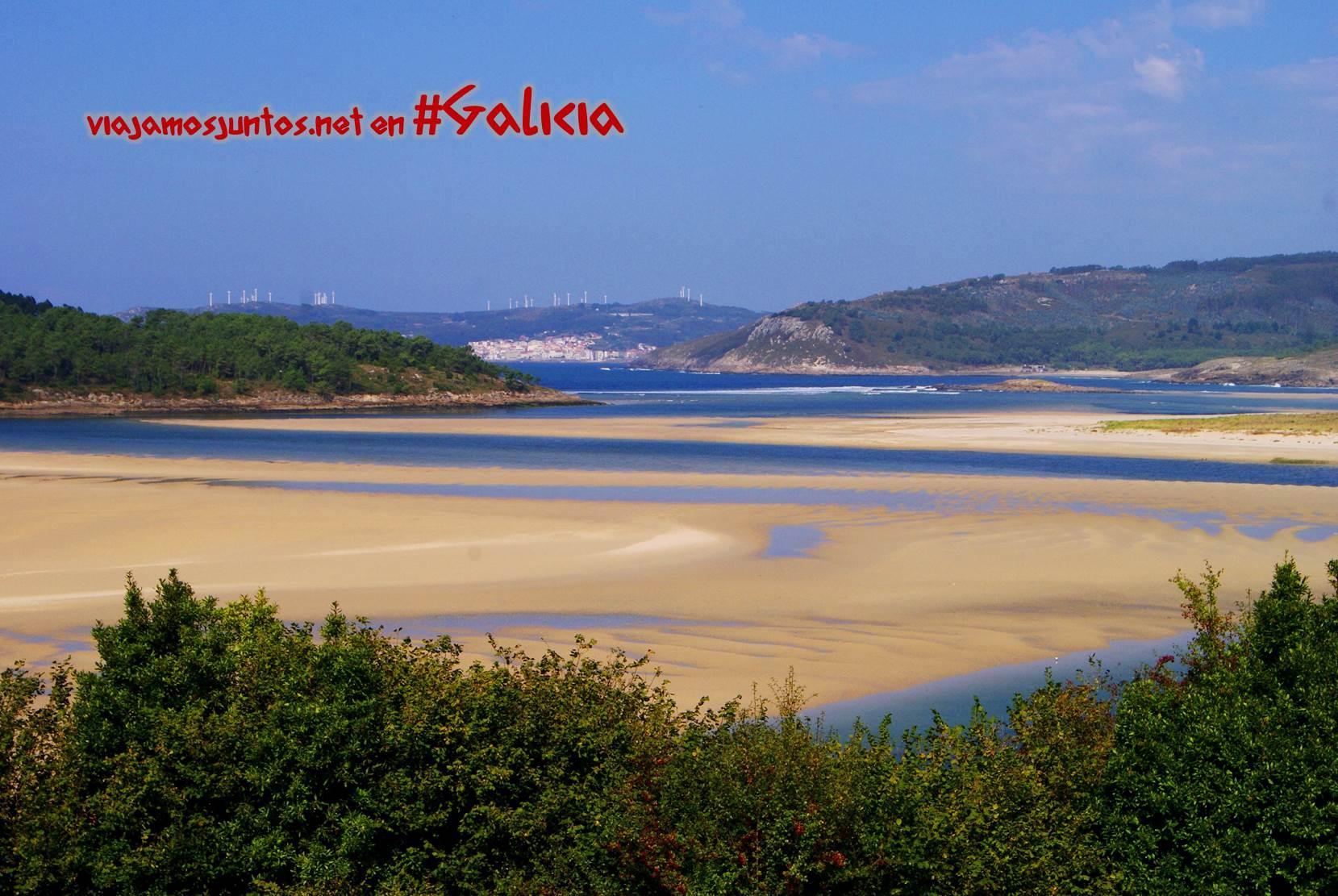 Playas de la Costa da Morte, Galicia; marea baja
