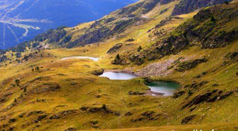 Tres lagos en el trekking por Andorra, Pirineos, GRP