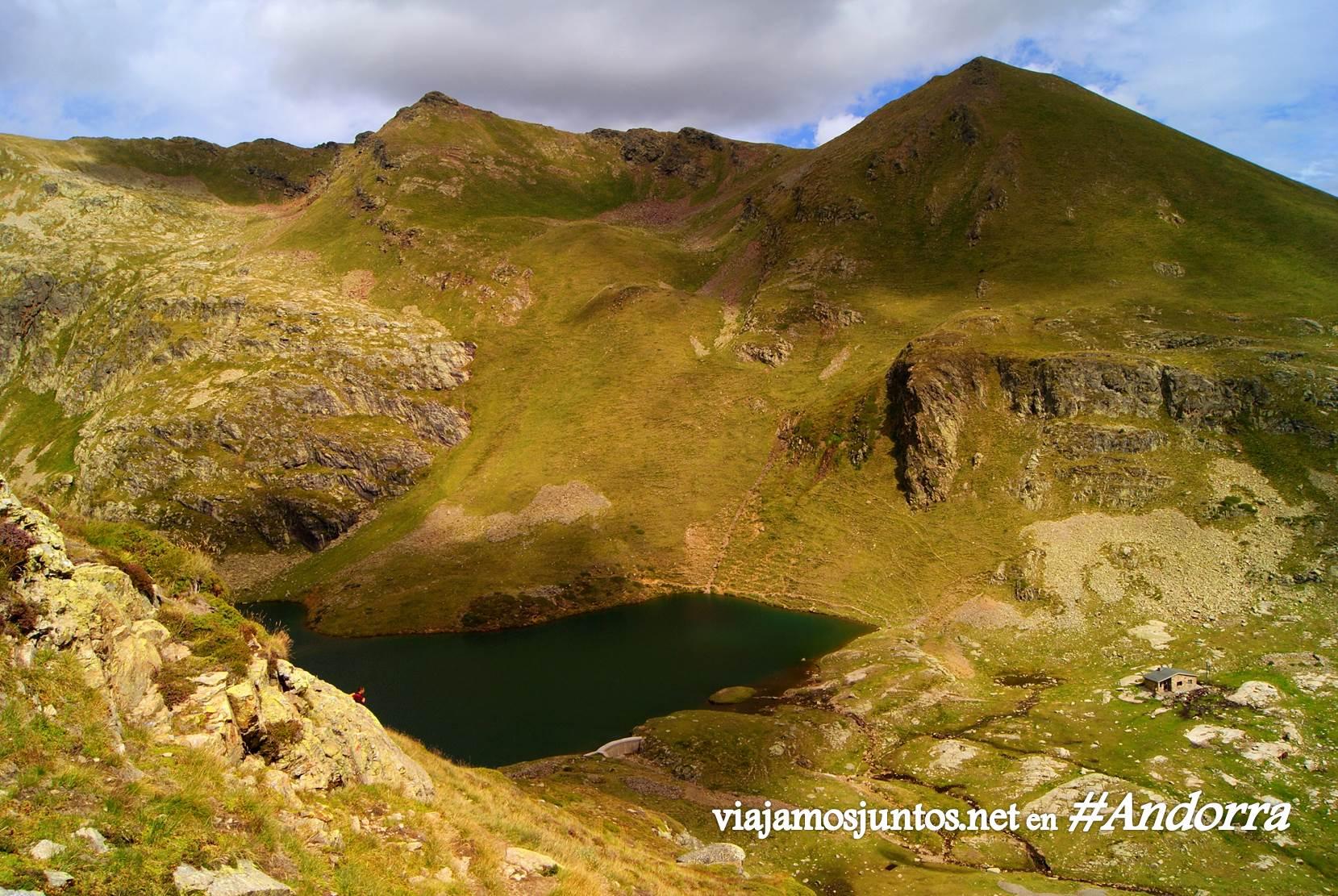 Desde el refugio de Cabana Sorda, Andorra trekking, Pirineo Oriental