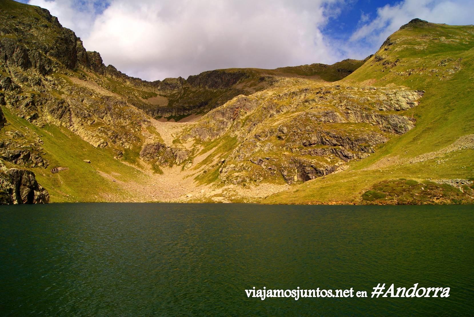 Laguna de Cabana Sorda, Andorra trekking, Pirineo Oriental