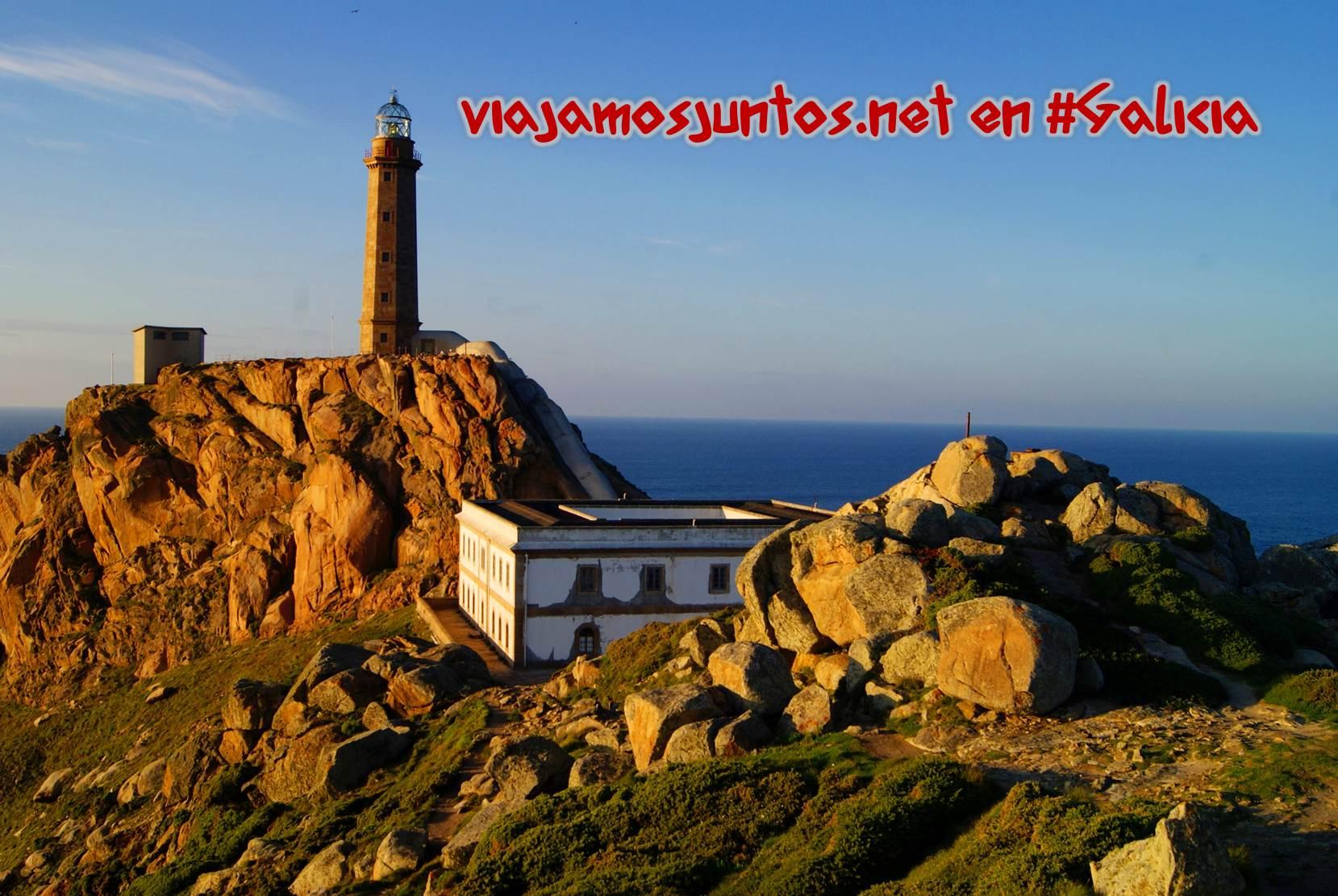 Cabo Vilán, Costa da Morte, Galicia; el faro