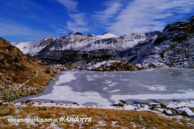 Circo de lagos de los Pessons, GRP de Andorra, Pirineo Oriental