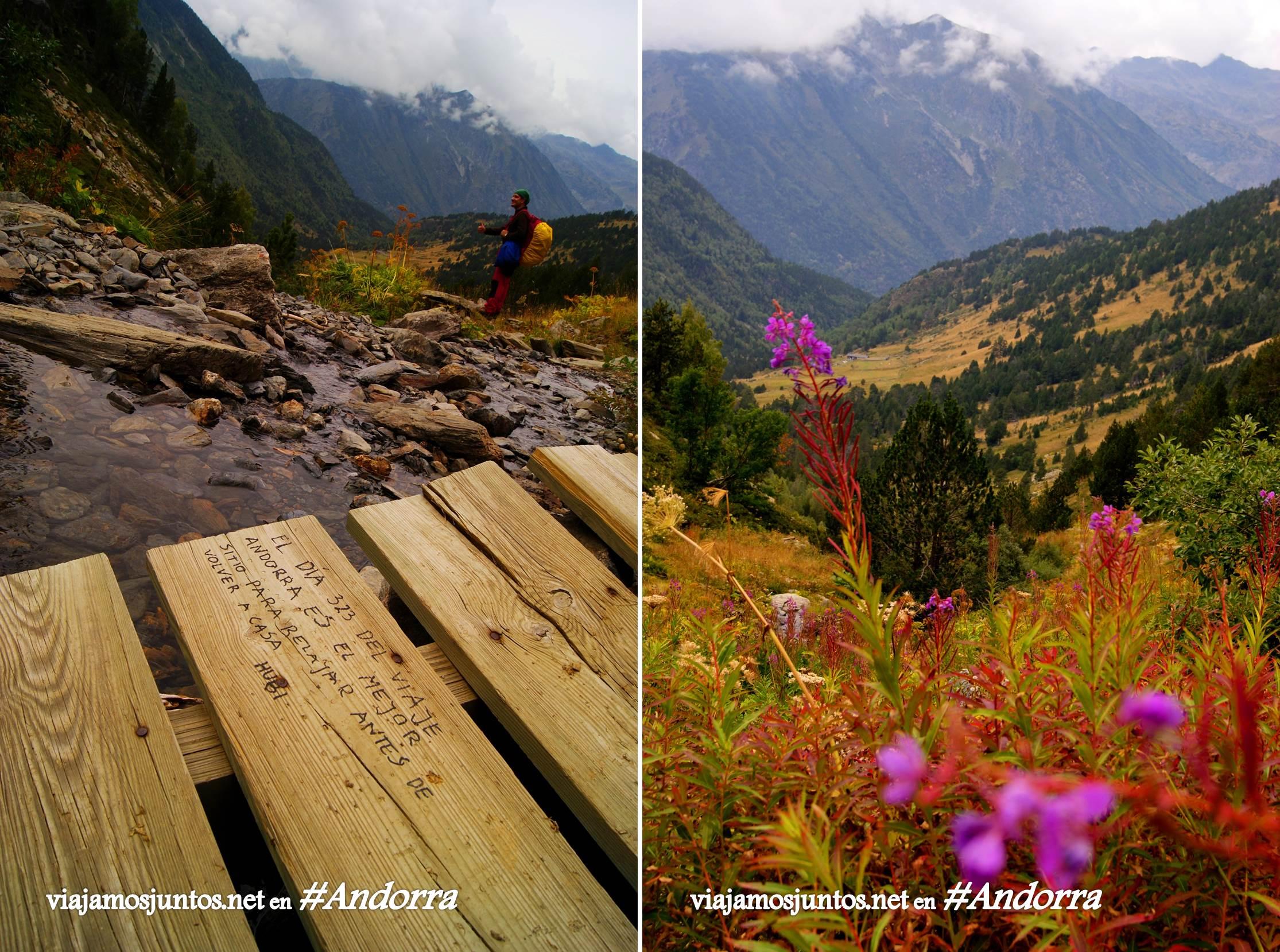GRP de Andorra, trekking por los Pirineos Orientales; Palabras de un viajero