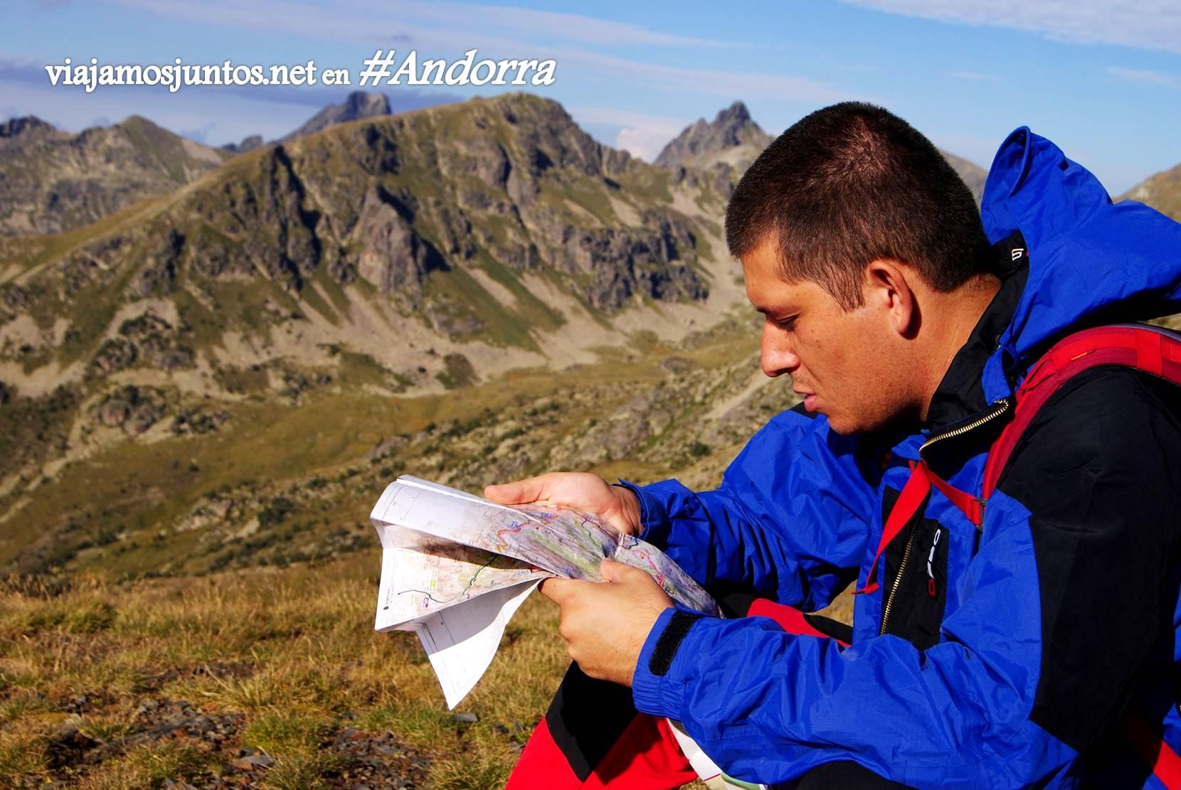 Mapa del GRP de Andorra