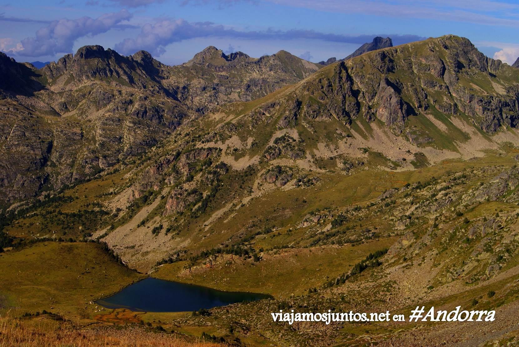El último pico para ascender antes de llegar al refugio de Siscaró, GRP, Andorra