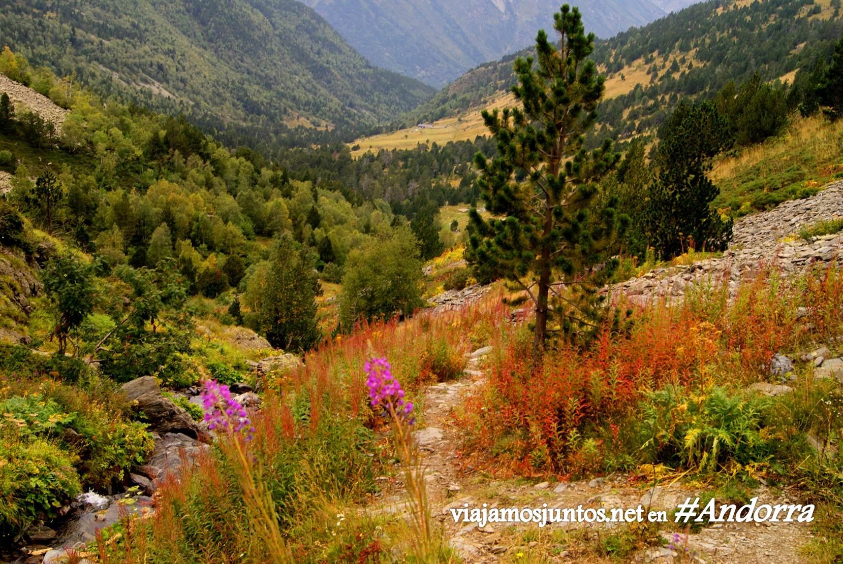 GRP de Andorra, trekking por los Pirineos Orientales; casi llegamos al refugio Bordes de Sorteny