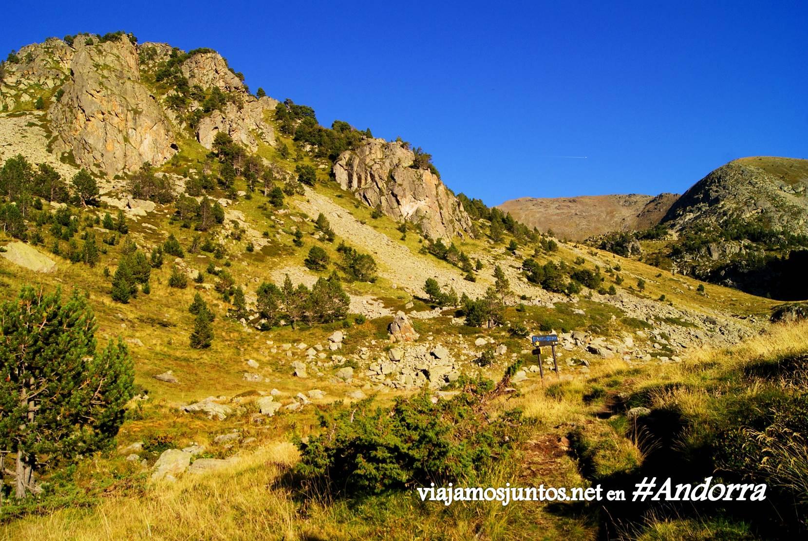 GRP de Andorra, punto conflictivo. Pirineos