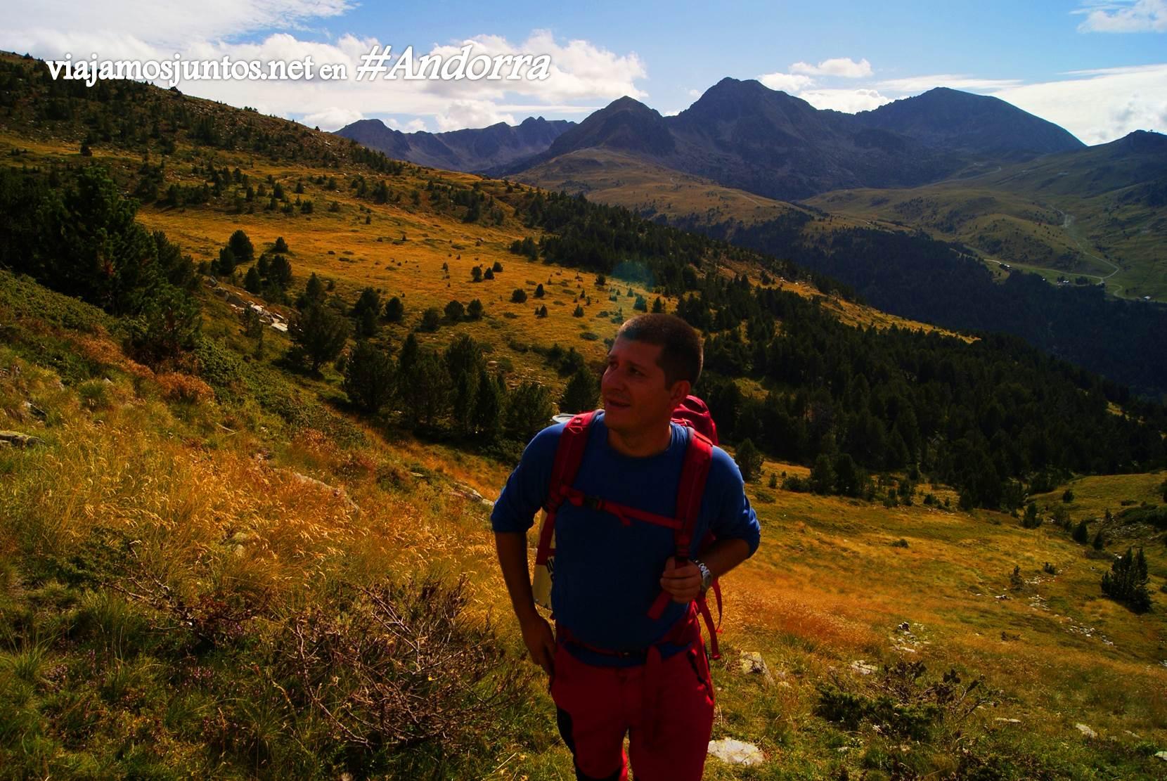 Dirección: Collet d'Ortafa, GRP Andorra, Pirineos