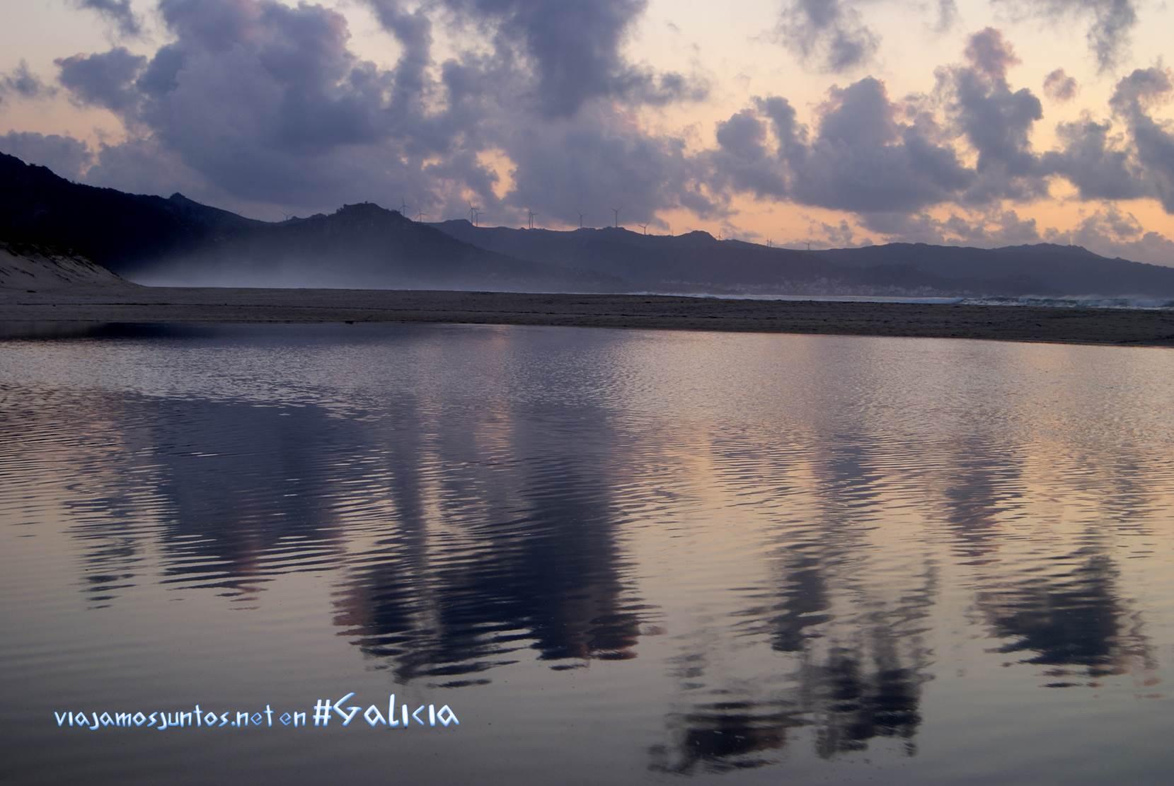 La playa de Traba, Costa da Morte, Galicia