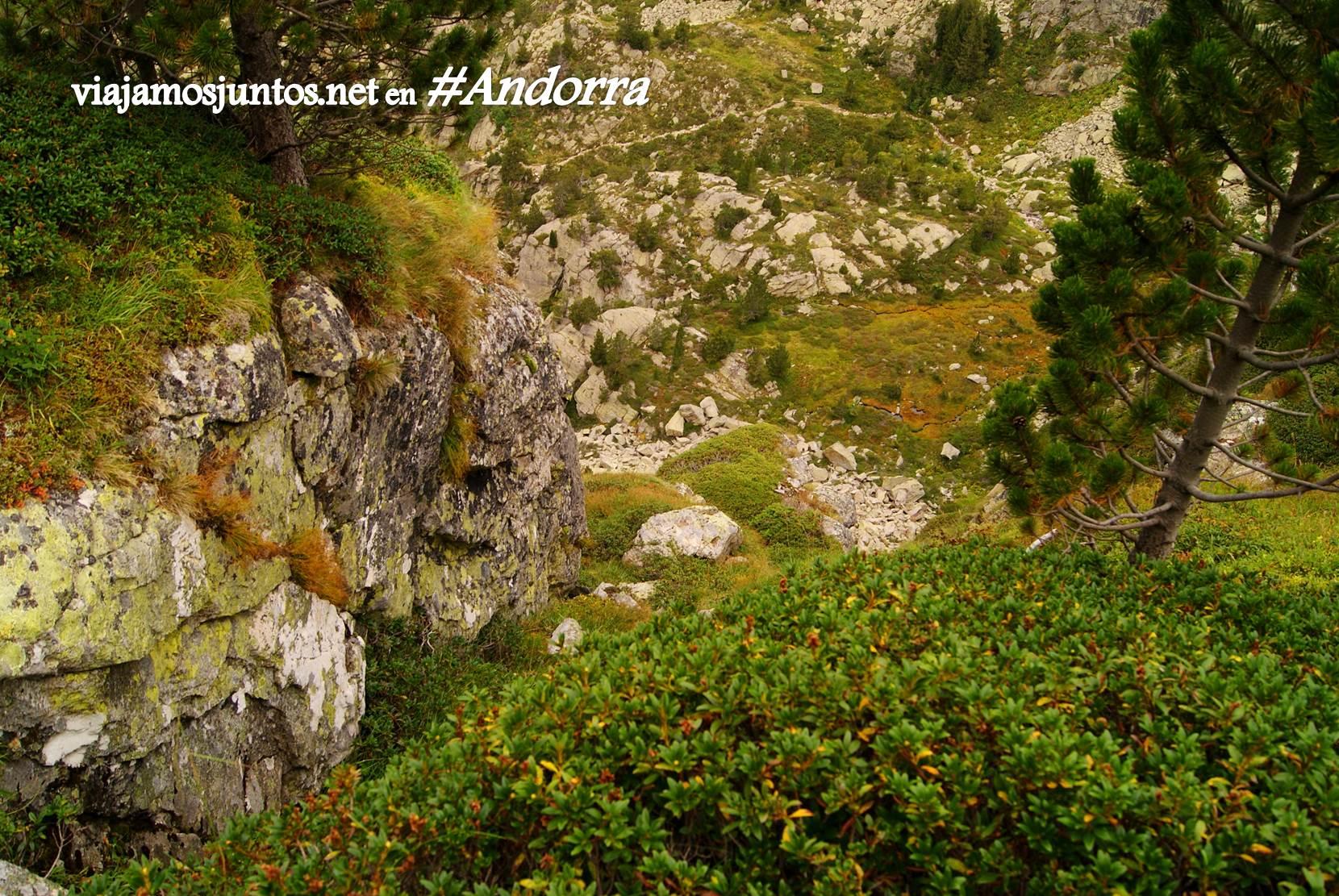 Pendientes empinados del GRP de Andorra