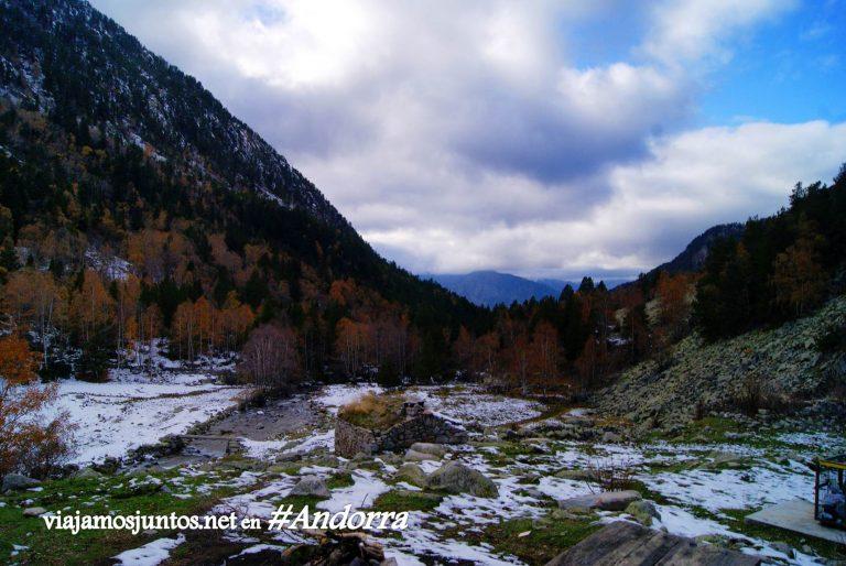 GR7 Escaldes Andorra trekking, Pirineo Oriental