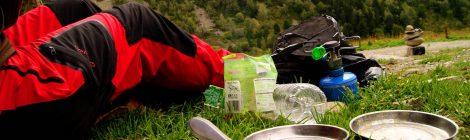 Cocinar setas al camping gas, GRP Andorra