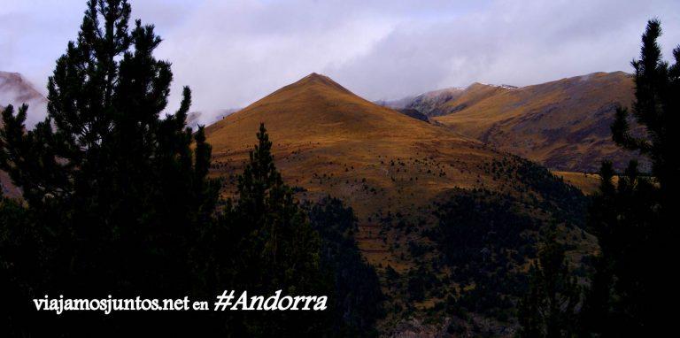 GRP de Andorra, un gran trekking alrededor del país, en los Pirineos Orientales; montaña pelada