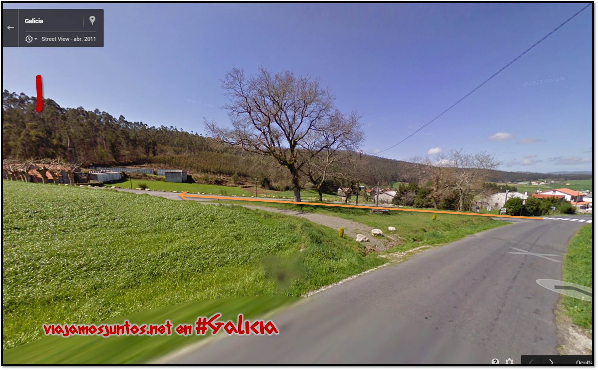 Dolmen de Pedra Cuberta; Ruta de los dólmenes de Vimianzo; Dumbría, Costa da Morte, Galicia