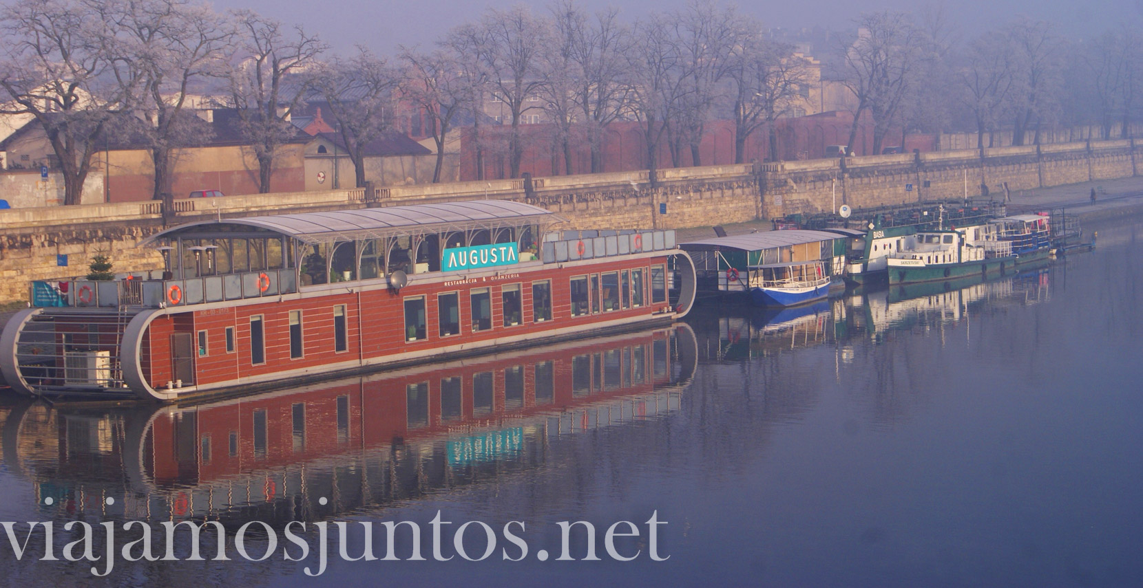 Que ver en Cracovia, Polonia; paseando por la ciudad temprano por la mañana, barrios y ríos