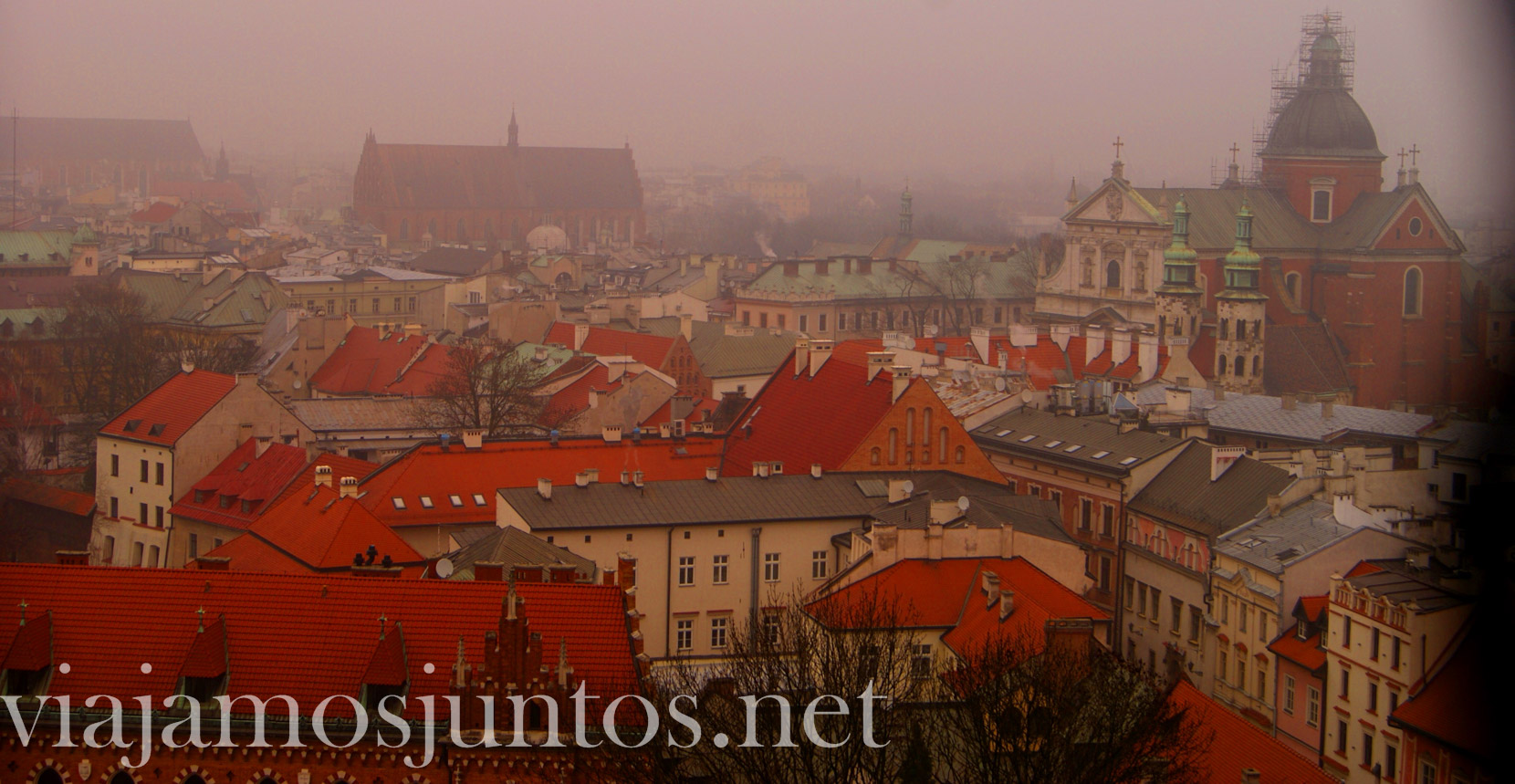 Que ver en Cracovia, Polonia; Vistas desde el castillo