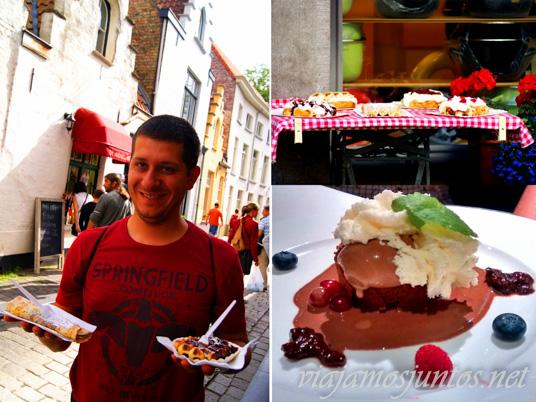Los mejores postres de Flandes, Bélgica, Antwerpen, Brujas, Ghante