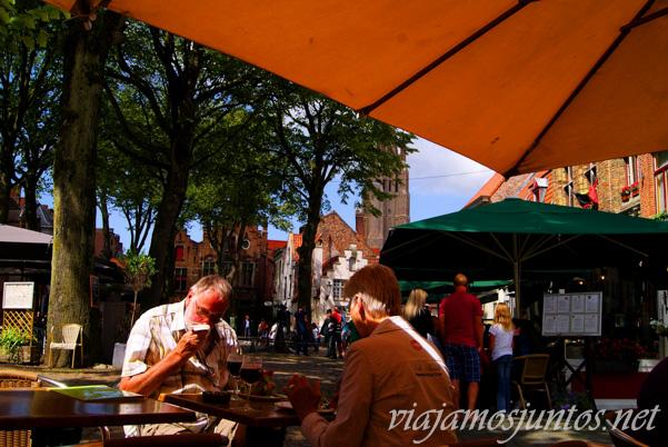 Restaurantes en Flandes, Bélgica, Antwerpen, Brujas, Ghante